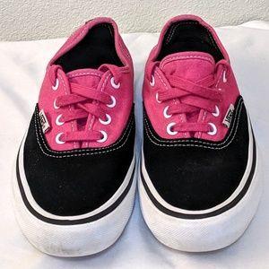 Vans Pro Black/Magenta Skateboard Sneakers